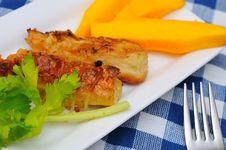 Free Traditional Fried Mango Prawn Delicacy Stock Photo - 19991910