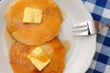Free Delicious Homemade Pancakes Royalty Free Stock Images - 19992039