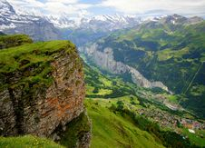 Free Swiss Alps Royalty Free Stock Photography - 19992717