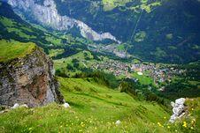 Free Swiss Alpine Village Stock Photos - 19992803