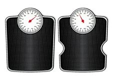 Free Two Bathroom Scales Stock Photos - 19993333