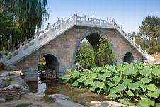 Free Stone Bridge Royalty Free Stock Photo - 19993575