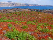 Free Volcano Of Santorini In Greece Thirasia Stock Image - 19993611