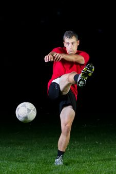 Free Soccer Player Stock Photography - 19993612