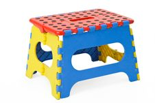 Free Folding Stool Royalty Free Stock Photos - 19993658