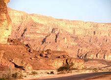 Free Travel In Arava Desert Stock Image - 19994161
