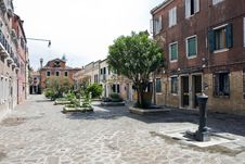 Free Street In Murano Island Royalty Free Stock Images - 19994929