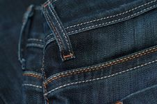Free Blue Denim Jeans Stock Image - 19995041