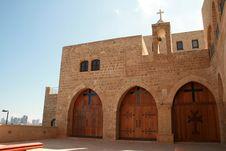 Armenian Monastery In Jaffa Stock Photo