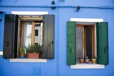 Free House In Burano Island Stock Photography - 19995242