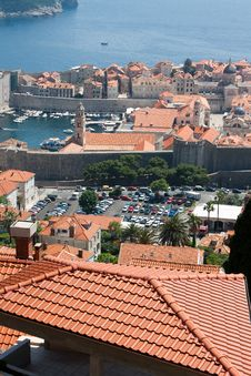 Free Dubrovnik From Above Royalty Free Stock Images - 19995369