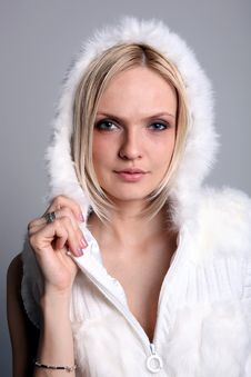 Pretty Blond Girl Stock Photos