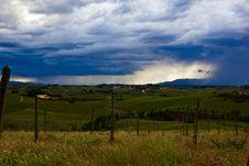 Thunderstorm Ahead Royalty Free Stock Photography