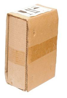 Free Old Empty Cardboard Box Stock Photos - 19997343