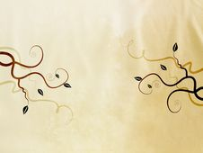 Free Beautiful, Stylish Background With Swrils Stock Photos - 19997553