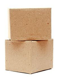Free Cardboard Boxes Isolated Royalty Free Stock Images - 19997639