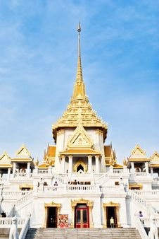 Free Wat Traimite Temple Stock Images - 19997794