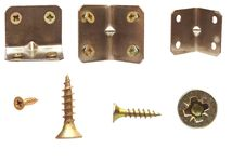 Free Set Of Screws Stock Photo - 19999320