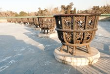 Free China Ancient Pots Royalty Free Stock Photos - 19999578