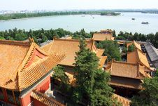 Free Landscape Of Summer Palace Royalty Free Stock Photography - 19999847