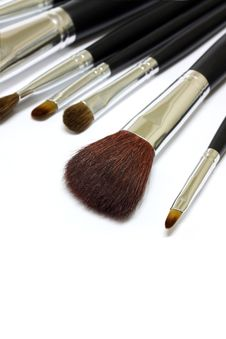 Free Paintbrushes Isolated On White Stock Images - 19999934
