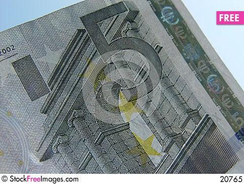 Free 5 Euro Royalty Free Stock Photo - 20765