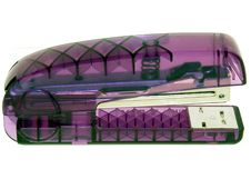 Free Translucent Purple Stapler Royalty Free Stock Images - 20179