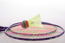 Free Badminton Set Royalty Free Stock Photos - 22138