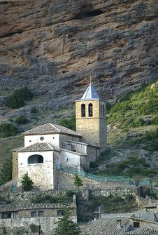 Free San Martin S Church, Riglos, Spain Stock Images - 23694