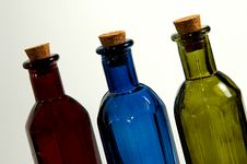 Free Colored Bottle Royalty Free Stock Photo - 25795