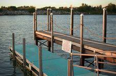 Free Two Level Dock Stock Image - 25811