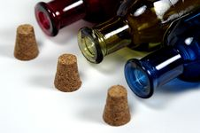 Free Bottles And Corks Stock Image - 26631