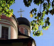 Autumn At Donskoi Monastery Stock Images
