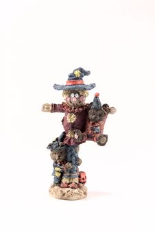Free Scarecrow Figurine Stock Photography - 27952
