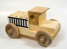 Free Wooden Truck Stock Photo - 29970