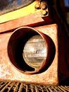 Free Excavator Headlight Stock Image - 206501