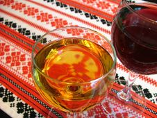 Free Wine Glasses Royalty Free Stock Photo - 200295