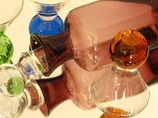 Free Glass Bottle & Glasses Royalty Free Stock Images - 200469