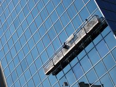 Free Window Washers Royalty Free Stock Photos - 200528