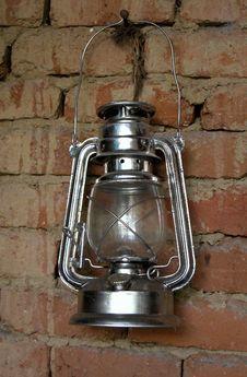 Vintage Petrol Lamp Stock Image