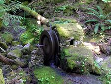 Free Water Wheel Royalty Free Stock Photography - 204007