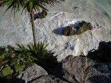 Free Tulum Beach 2 Stock Photography - 204712