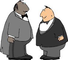 Free Two Guys In Tuxedos Stock Photos - 206253