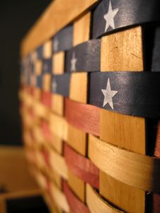 Free Patriotic Basket Stock Photo - 206570