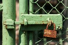 Free Rusty Lock Royalty Free Stock Image - 207316