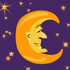 Free Mr Moon Stock Photo - 208820
