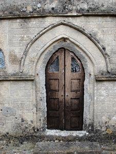 Free Church Door Royalty Free Stock Photo - 209585