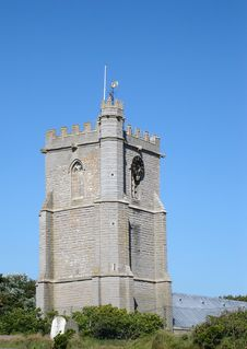 Free Church Tower Royalty Free Stock Photo - 209725
