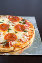 Free Pepperoni Pizza Stock Photography - 2001192