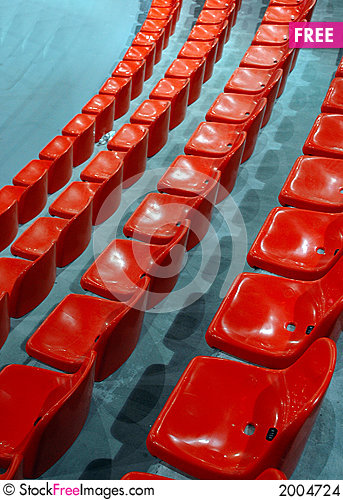 Free Indoor Athletic Center Seats Stock Images - 2004724